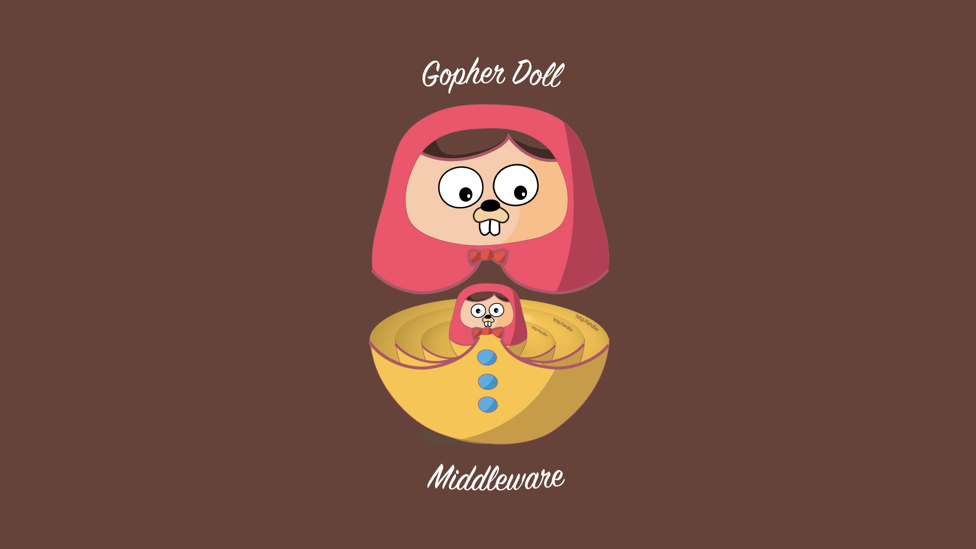 Gopher Doll